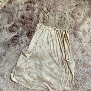 Aritzia Dresses - ARITZIA WILFRED | Boho Bustier Tie Dye Dress